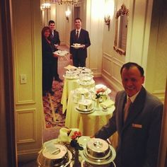 24 hours ago. Preparing for the hurricane. #stregis #roomservice