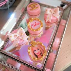 What pretty chocolate covered cookies at this Chanel Barbie Birthday Party!! See more party ideas and share yours at CatchMyParty.com #catchmyparty #chocolatecoveredcookies #chanelbarbiecookies #chanelbarbiebirthdayparty
