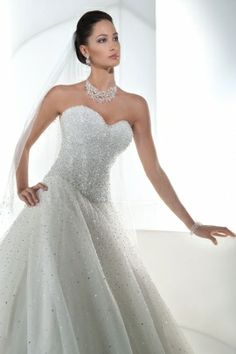 Ilissa Style 536 by Demetrios...one of my favorites. Didn't think I'd like a ballgown!