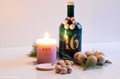 Koti Aurorassa: Diy / joulukoristeita puuhelmistä