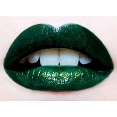 Lime Crime Serpentina Dark Green Lipstick - $18.95