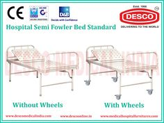 There are various types of manual hospital bed manufacturers in India. Desco India is the first choice for manual hospital beds in India. These beds are meant for patients who require sufficient back rest and manual bed meet that requirements.