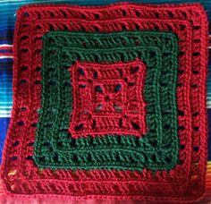 Basic Crochet Granny Square   AllFreeCrochetAfghanPatterns.com