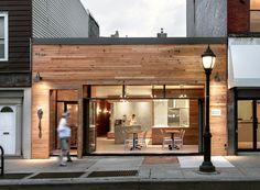 Wood Restaurant Exterior Design