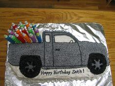 pick up truck birthday cake , Google Search