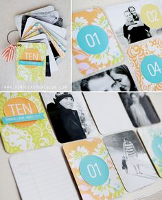 10 Things I Love About You Mini Album. #projectlife #handmadegifts #valentinesday