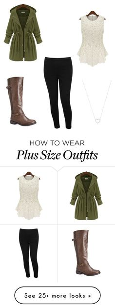 """Casual/little girly"" by janneyzearrah-1 on Polyvore featuring Avenue, M&Co and Tiffany & Co."