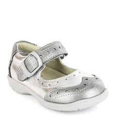 Silver Brogue Etude Shoes – Infant & Toddler by Umi Shoes on #zulily today!