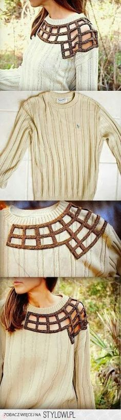 Very cool DIY Clothing Ideas #MORANA [ MoranaOnline.com ]