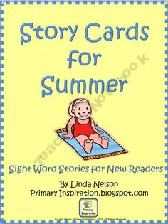 $1.50   Story Cards for new readers - lots of sight words and fluency practice!