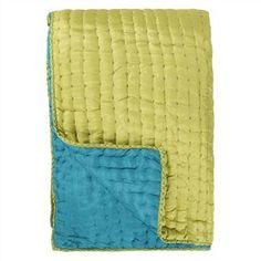 Chenevard Turquoise & Pistachio Quilt & Pillowcases