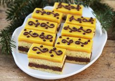 Romanian Desserts, Food Cakes, Something Sweet, Mcdonalds, Mousse, Waffles, Cake Recipes, Biscuits, Bacon