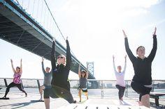 FREE Yoga on Race Street Pier