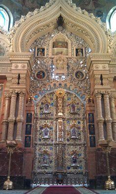 The Church of the Savior on Spilled Blood (Храм Спаса на Крови), Nevsky Prospekt, Saint Petersburg, Russia