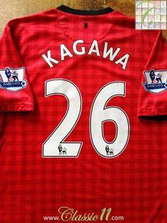 0db0de1df59 2012 13 Man Utd Home Premier League Football Shirt Kagawa  26 (M). Vintage  ...