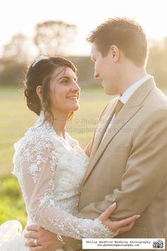 #Bride & #Groom in beautiful sunset light