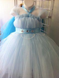 Cinderella Inspired Tutu Dress- Size 6. $45.00, via Etsy.