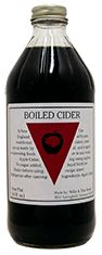 Wood's Cider Mill - Boiled cider. Condensed apple cider. Pour on ice cream, yogurt, tarts, pound cake, pancakes, anything!