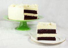 The Ultimate Red Velvet Cake Cheesecake via @Grace's Sweet Life