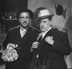 Film Toto' Peppino e la malafemmina: E ho detto tutto!!!!! Frase celebre del film