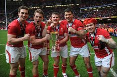 Wales Rugby Team and the Rugby Six Nations Grand Slam Cup