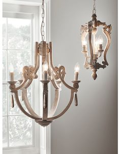 Inspired by our bestselling Wooden Chandelier, our petite mango wood light has a unique shape and faintly limewashed finish. Complete with intricate carved details and space for three bulbs, it will make a feature of your lighting. Kitchen Light Fittings, Light Fixtures, Foyer Lighting, Cool Lighting, Island Lighting, Kitchen Lighting, Lighting Ideas, Pendant Lighting, Ceiling Light Design