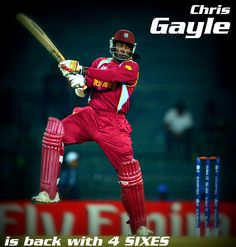 Gayle is back! #wt20