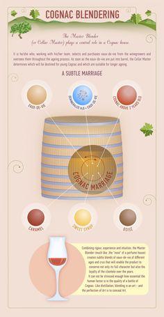 Cognac Blendering #infographic #infografía