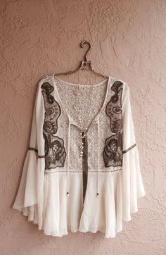 Romantic Juliet Coachella festival Bohemian bell by BohoAngels, $220.00