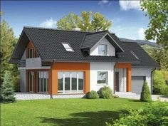 ♡♥ Family Of 4, Own Home, My Dream Home, Beautiful Homes, House Plans, Cozy, House Styles, Building, Places