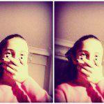 akşam selfiesii :D ss.