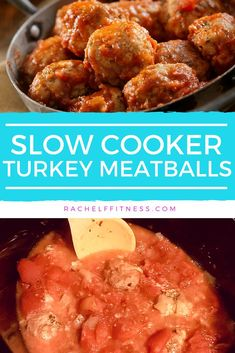 Looking for an easy crockpot recipe? these healthy slow cooker turkey meatballs are an easy 21 day fix approved recipe to make. all you need is 20 minutes Easy Appetizer Recipes, Delicious Dinner Recipes, Healthy Slow Cooker, Slow Cooker Recipes, Crockpot Recipes, Slow Cooker Turkey Meatballs, Warm Food, Living At Home
