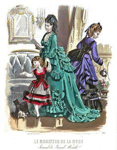 1871 Le Moniteur de la Mode