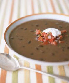 Black Bean Soup | RealSimple.com
