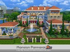 The Sims Resource: Mansion Pannarai by Autaki • Sims 4 Downloads