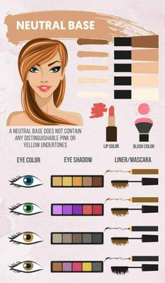 Neutral Base   Makeup Guide   Makeup Colors By Skin Tone