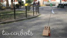 Picture of Interactive robot art installation on the streets of NYC