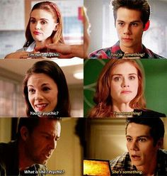 Lydia is officially a something.