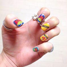 moschino nail