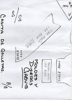CASA DE NIEVE MOLDES GABYS :)