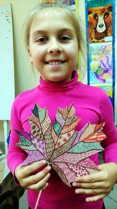 Art For Kids, Crafts For Kids, Art Lessons, Art Projects, Kindergarten, Doodles, Autumn, School, Children
