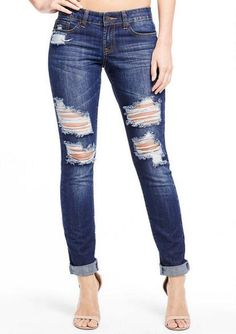 Jessica Relaxed Skinny Jean - Plus Size Jeans - Alloy Plus - Clothing - Alloy Apparel