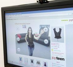 """Exclusivamente patrocinado pela JCPenney, o projeto do """"camarim virtual"""" idealizado e produzido por Hearst Magazines Digital Media em colaboração com Metaio, já esta a disposição para os clientes da Seventeen.com."""