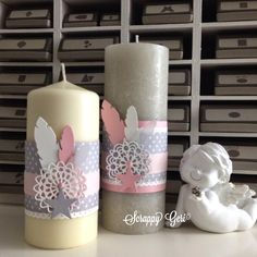 Le blog de Scrappy Géri | bougies!!!!! candles!!!! |    Coucou!     Merci de votre passage par ici et merci infiniment à toutes celles qui me laissent un... Paper Gifts, Craft Fairs, Home Deco, Pillar Candles, Stampin Up, Home Improvement, Creations, Invitations, Diy