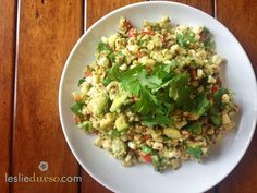 Fresh Summer Vegan Quinoa Salad