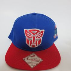 4927c2caa4969 Transformers Hat Cap Snapback MARVEL COMICS COSPLAY AUTOBOTS Optimus Prime  HAT  Transformers  BaseballCap