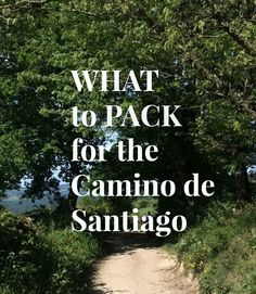 Wondering what to pack for your Camino de Santiago experience? I was just as clueless, so I decided to share what I packed with you. The Camino, What To Pack, Clueless, Free Blog, Told You So, Packing, Camino De Santiago, Places, Bag Packaging