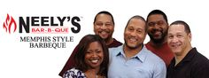 I want to meet them, and also eat at their restaurant! - Neely's Barbeque in Memphis!