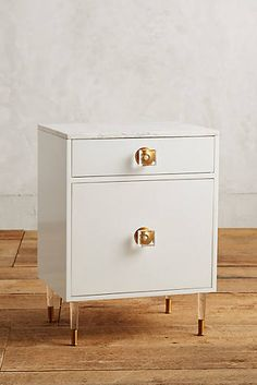 Lacquered Regency Bath Cabinet, Small