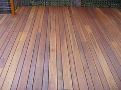 2 diff widths of wood. deck spotted gum